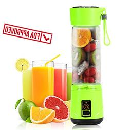 Portable USB Personal Blender with Travel Jar, Smoothie Make