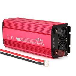 UFire 2000W Power Inverter DC 12V To 110V AC Car Converter W