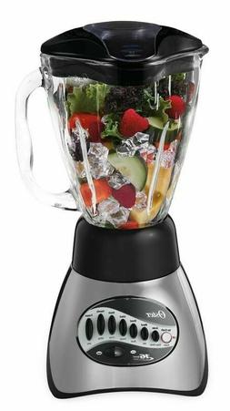 Oster Precise Blend 200 16-Speed Blender, Gray