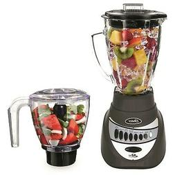 Oster - 12-Speed Precise 700 Blender with Chopper - Metallic