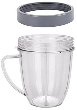 Preferred Parts NutriBullet Replacement Cups with Comfort Ha
