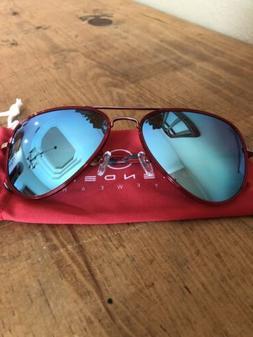 NEW Blenders Eyewear Sunglasses Weekend Flyer Polarized Red