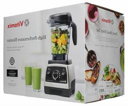 Vitamix Pro Series 750 Brushed Stainless Finish with 64oz Co