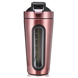 Slimerence Protein Shaker Bottle, Stainless Steel Mixer Bott