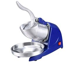 YI HOME- Ice Crusher Stainless Steel Blue Quick Mixer Commer
