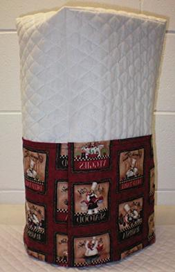 Quilted Red Fat Bistro Chefs Blender Cover