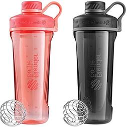2 Pack Blender Bottle Radian 32 oz. Tritan Shaker Bottle wit
