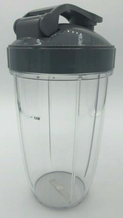 Blenpar Replacement 24oz Cup & FlipTop Lid Compatible with N