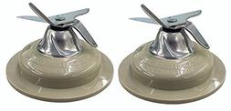 Ximoon 2-Pack Replacement Blender Blade for Black and Decker