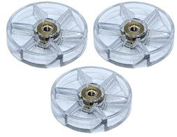 Blendin 3 Pack Replacement Motor Top Base Gear Clutch, Fits