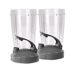 Replacement NutriBullet 32 Oz Cup with Flip Top To Go Lid Fo