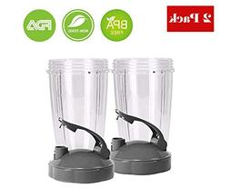 Pro Blade Replacement NutriBullet 24 oz Cup Flip Top to Go L