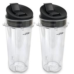 ELEFOCUS Replacement Parts for Nutri Ninja Blender, 2 Pack 1