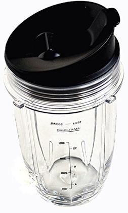 Sduck Replacement Parts for Nutri Ninja Blender, Small 18 oz