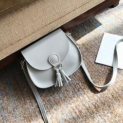 LtrottedJ Girls Women Retro Simple Bag, Mini Crossbody Shoul