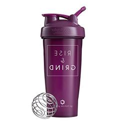Rise & Grind on BlenderBottle Brand Classic Shaker Cup, 28oz