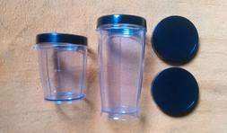 Bella Cucina Rocket Blender PARTS 2 Cups / 2 Drink Rings / 2