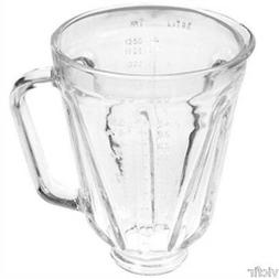 Round Glass Blender Jar Replacement Part, Fits Proctor Silex