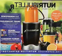 NutriBullet Rx Stainless Steel 1700 Watt 10 Piece Nutrition