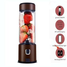S-POW Stainless Steel Portable Glass Smoothie Blender Cup US