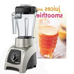 Vitamix S55 Brushed Stainless 40 Ounce Blender with 20 Ounce