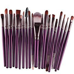 Joopee 20 pcs/Set Makeup Brush Set tools Make-up Toiletry Ki