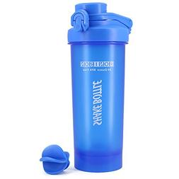 Hydro2go 24 Ounce Shaker Bottle With Auto Flip Lids Blending