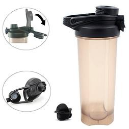 Shaker Bottle, 23 oz / 700ml Blender Water Cup, Eco Friendly