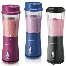 SINGLE SERVE BLENDER Hamilton Beach Personal Nutrient Shakes