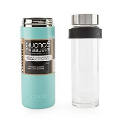 Boroux SLEEVE-Insulated Thermos Water Bottle .5 LITER. Handm