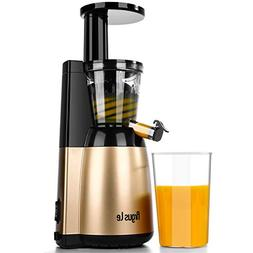 Argus Le Slow Juicer, Easy to Clean Masticating Juicer Extra