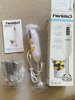 Cuisinart Smart Stick Two-Speed Hand Blender in White