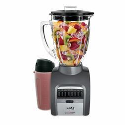 Oster Smash Blend 300 Blender w/ Travel Smoothie Cup 14 Spee