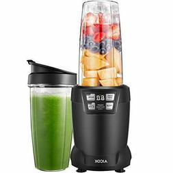 Smoothie Blender, Aicok Blender 1200W, 28000RPM High Speed P