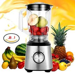 Smoothie Blender, 800W 1.8L Electric Professional Personal B