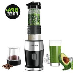 Smoothie Blender, Willsence Personal Blender 300W 2-in-1 Sin