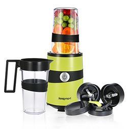 Homgeek Smoothie Blender, Fruits Mixer Personal Blender Nutr
