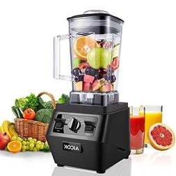 Blenders, Aicok Professional Smoothie Blender 30,000RPM, wit