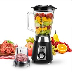 SKG Smoothie Blender/Mixer, 500W Electric Mixer Nutrition Fo