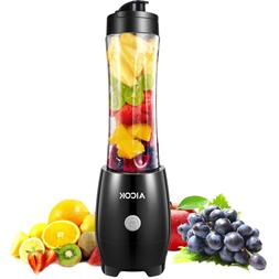 Smoothie Blender Aicok Personal Blenders with Travel Portabl