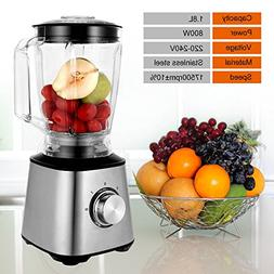 Smoothie Blenders, Countertop Blender 800W for Shakes and Sm