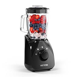 BESTEK Smoothie Blenders,350 Watts Blender for Shakes and Sm