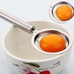 YJYDADA Stainless Steel Egg Yolk White Separator Divider Hol