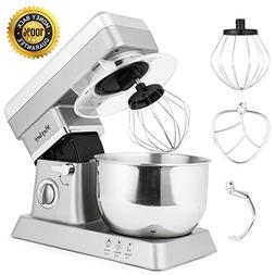 MeyKey Stand Mixer, 600W Tilt-Head Kitchen Electric Food Mix