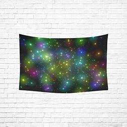 XINGCHENSS Star Color Lights 3d Blender Tapestry Abstract Pa