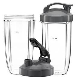 QueenTrade 32OZ Tall Cups & Flip Lids Ring Replacement Set F