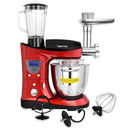 CHEFTRONIC 4 In 1 Multifunction Kitchen Stand Mixer SM-1088,