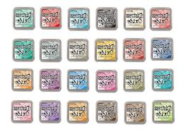 Tim Holtz and Ranger Distress Oxide Inks - Complete set of 2