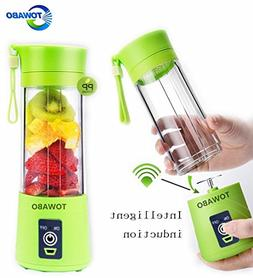 TOWABO USB Juicer Cup, Fruit Mixing Machine, Portable Person