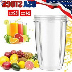 US 24OZ 32OZ For Nutribullet Blender Cups Juicer Mixer Mug C